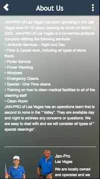 Jan-Pro Las Vegas screenshot 4