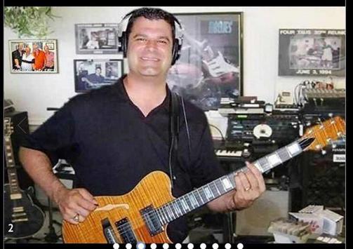"""""""Jim Plays Hot Guitar"""" poster"""