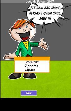 Jogo Forca 2017 apk screenshot