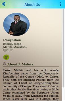 RFEC@J. Mafuta Ministries screenshot 1