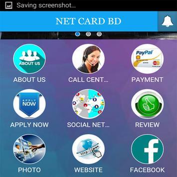 NET CARD BD apk screenshot