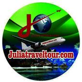 -.julia travel tour.- icon