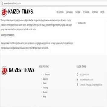 .Kaizen Trans Indonesia. apk screenshot