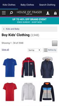 Kids Clothes Shopping screenshot 10