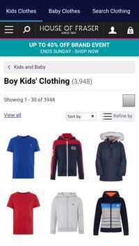 Kids Clothes Shopping screenshot 24