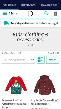 Kids Clothes Shopping screenshot 2