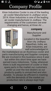 Kiran Industries TM poster