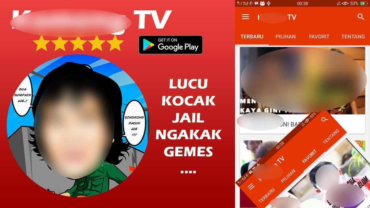 Komeng TV Channel Super Kocak Lucu Ngakak Jail for