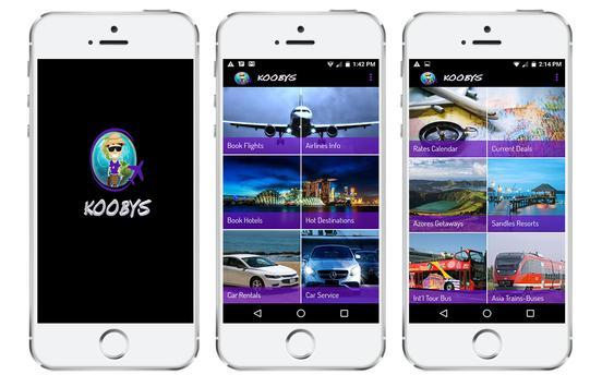 Koobys Travel App poster