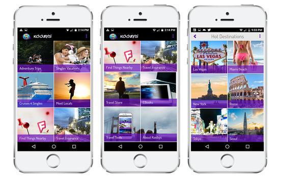 Koobys Travel App apk screenshot