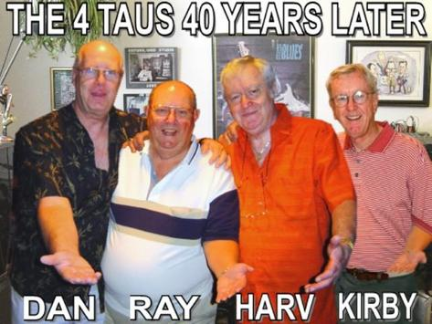 The 4 Taus 1961 - 1964 poster
