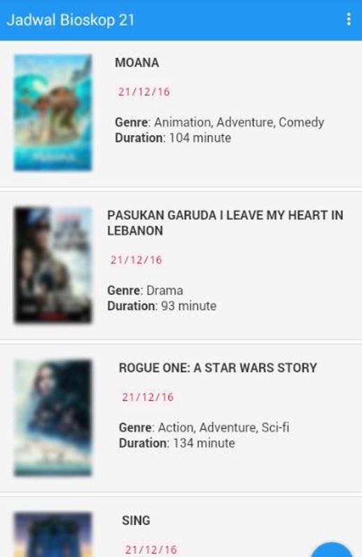 Jadwal Bioskop 21 APK Download