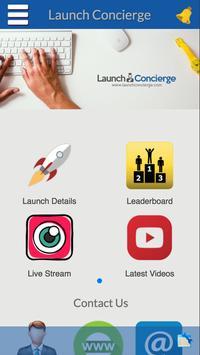 Launch-concierge poster