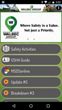 Walbec PM Safety poster