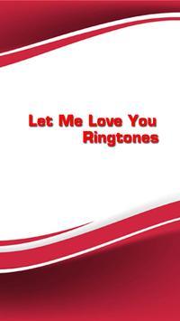 Let me love you Ringtones poster