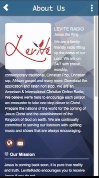 Levite Radio poster