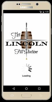 Lincoln Fill Station poster