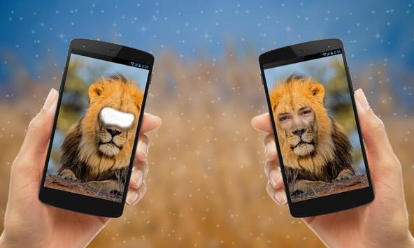 Lion Face Photo Editor apk screenshot