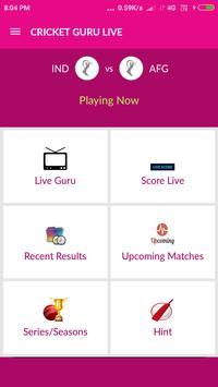 Cricket Guru Live poster