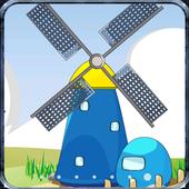 Cartoon Windmill LiveWallpaper icon