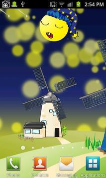 Cartoon Windmill LiveWallpaper apk screenshot