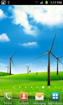 Windmill Live Wallpaper Poster Apk Screenshot