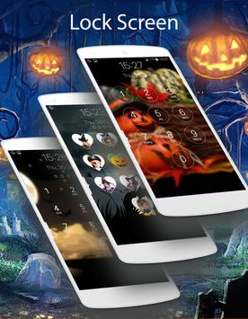 lock screen halloween screenshot 3