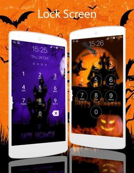 lock screen halloween screenshot 4