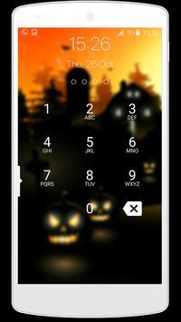 lock screen halloween screenshot 5