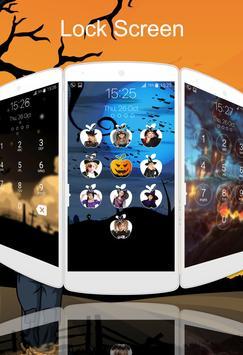 lock screen halloween screenshot 8