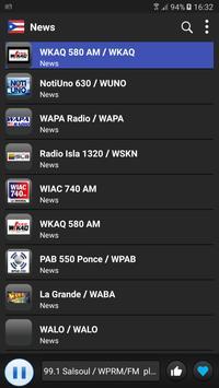Radio Puerto Rico - AM FM Online captura de pantalla 3