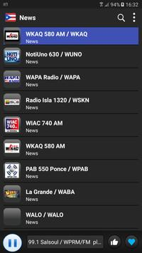 Radio Puerto Rico - AM FM Online screenshot 3