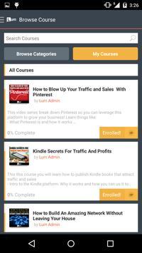 Lurn.com apk screenshot