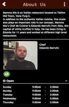 Mamma Mia Restaurant screenshot 1