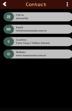 Mamma Mia Restaurant screenshot 2