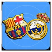 Madrid VS FC Barcelone - El Clásico icon