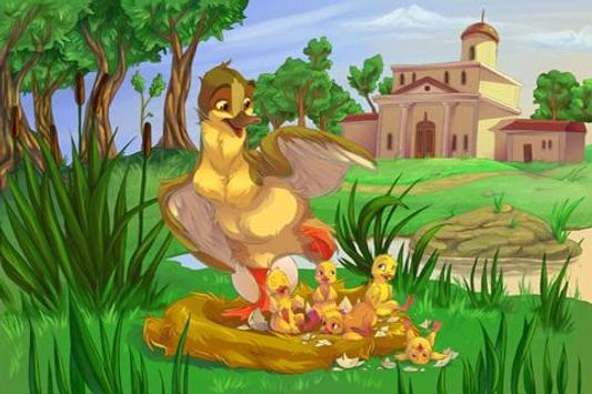 The Ugly Duckling Kids Book apk screenshot