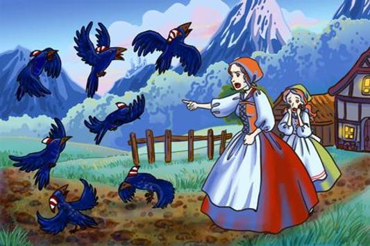 The Seven Ravens Fairy Tale screenshot 3