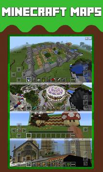 MAPS for Minecraft PE - FREE poster