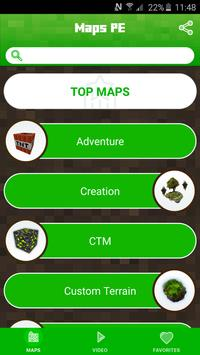 MAPS for Minecraft PE - FREE apk screenshot