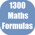 1300 Maths Formulas