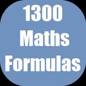 1300 Maths Formulas icon