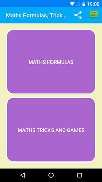 1300 Maths Formulas poster