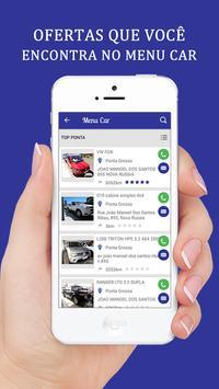 Menu Car screenshot 3