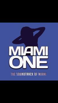 Miami One Radio poster