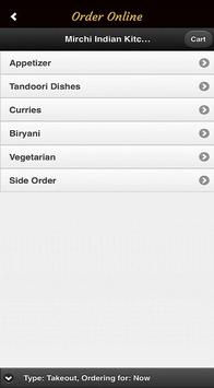 Mirchi Indian Kitchen screenshot 1