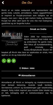 Mirchi Indian Kitchen screenshot 3