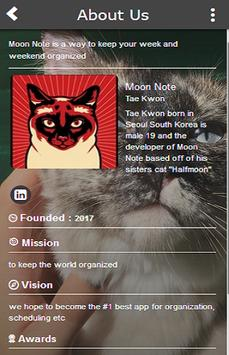 Moon Note apk screenshot