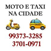 Moto e Taxi na cidade - Motorista icon