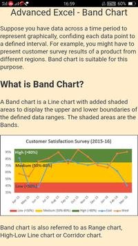 MS Excel Charts Learning screenshot 1